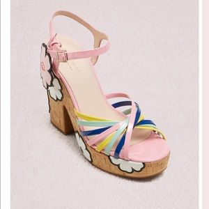 NIB Kate Spade Gerry Platform Sandals 6